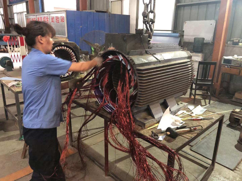 高压电机维修:高压电机检修事项